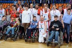 II благотворительный баскетбольный матч